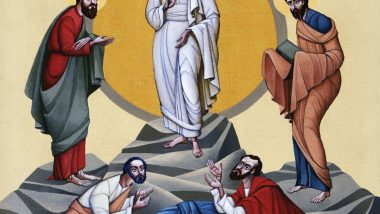 Transfiguration of Jesus icon